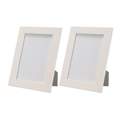 NYTTJA white plastic picture frames, 5x7 / For the home - Juxtapost