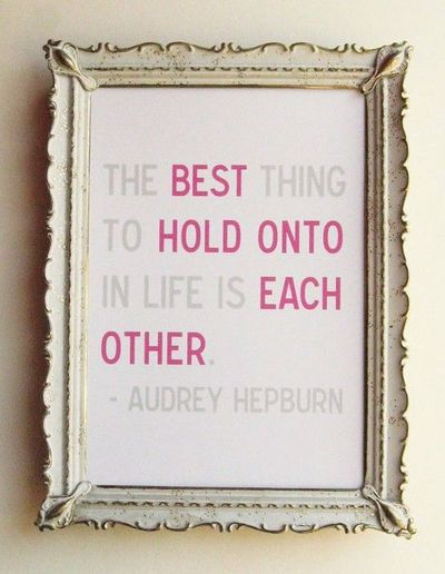 Love this quote - inside large frame? / inspiring quotes and sayings ...