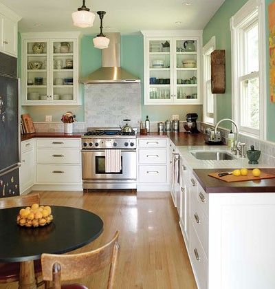 I want the white and open face cabinets / kitchen - Juxtapost