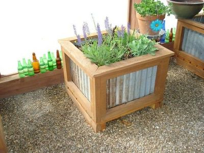 Corrugated Metal Raised Beds For My Backyard Juxtapost
