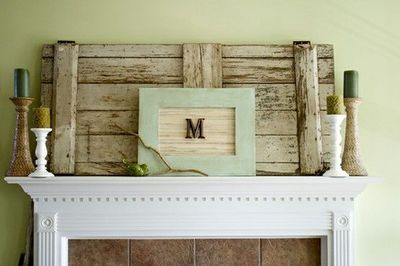 Idea for mantel