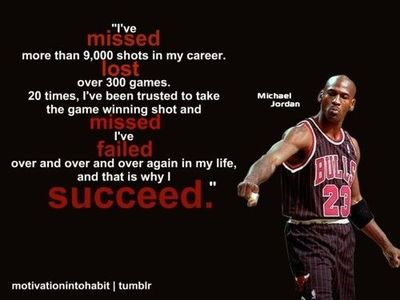 Motivation by good ol' Michael Jordan :)