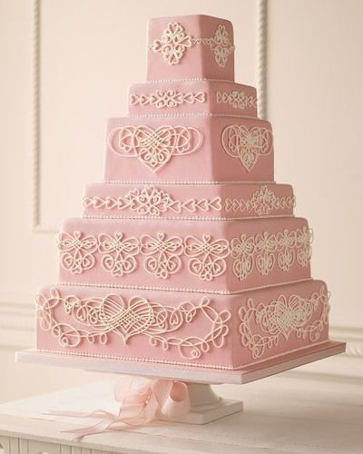 Cake Frosting Design Templates : Royal icing filigree hearts (templates) / wedding cakes ...