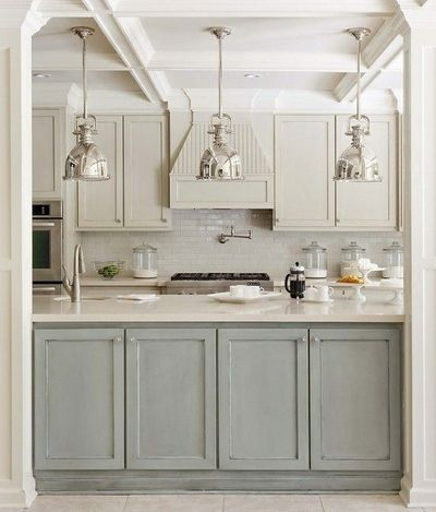 Painted Cabinets Benjamin Moore Ozark Shadow AC 26 For