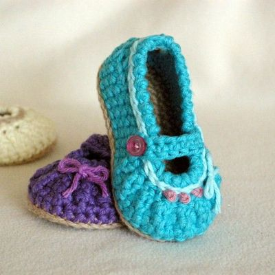 baby girl shoe crochet pattern baby bootie / crochet ideas and tips ...