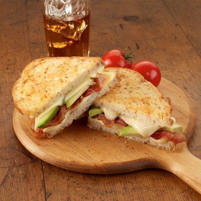 Bacon and Avocado Grilled Cheese Sandwich / meals to make - Juxtapost