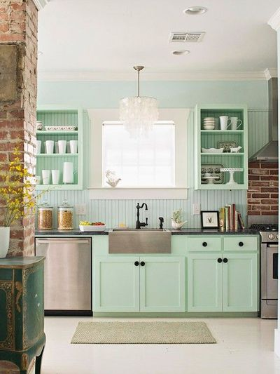 Tiffany Blue Kitchen Yes Please And Thank You