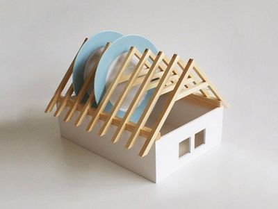 HOUSE DISH RACK BY VERONIKA PALUCHOVA
