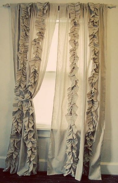 DIY Curtains Anthropologie Knock Off