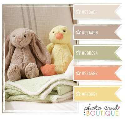 Baby Room Color Palette