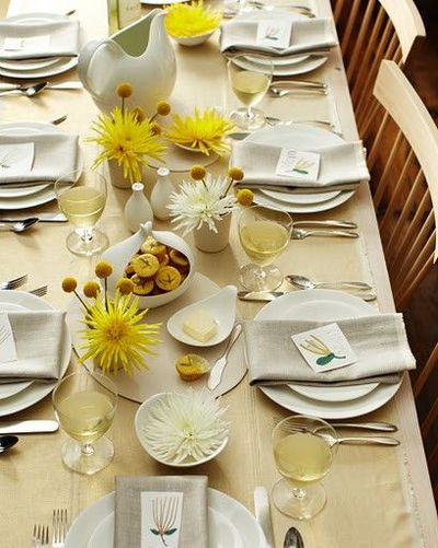 Simple Elegant Table Settings Simple Yet Elegant Thanksgiving Table Setting  Wedding  Juxtapost