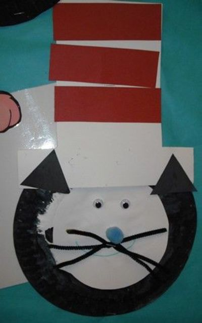 Paper Plate Cat in the Hat! ) & Paper Plate Cat in the Hat! :) / Craft Ideas - Juxtapost
