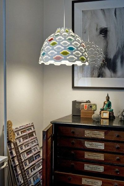 LOVE.....LC SHUTTERS PENDANT LAMP BY LOUISE CAMPBELL