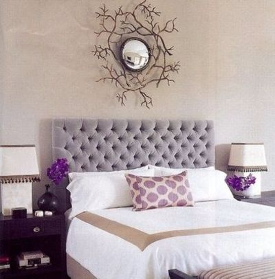 Purple Silver Gray For The Bedroom Juxtapost