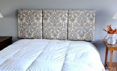 Homemade Head Board homemade headboard / for college - juxtapost