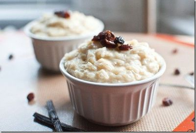 brown sugar & vanilla bean rice pudding