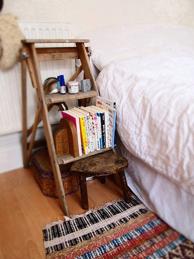 Alternative to a Common Bedside Table