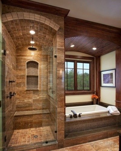 Barrel ceiling shower love it bath ideas juxtapost for Barrel ceiling ideas