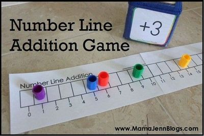 Number Line Math Games