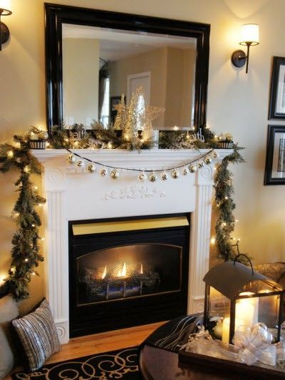Large Mirror Sconces Over Fireplace For The Home Juxtapost