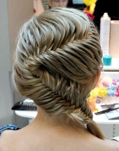 Zig zag fishtail french braids wow hair tips juxtapost zig zag fishtail french braids wow ccuart Images