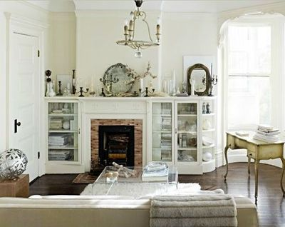 I Love The Built Ins Around The Fireplace For The Home Juxtapost