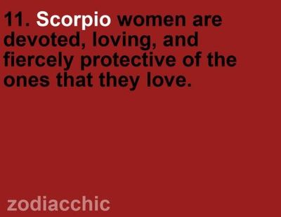 funny things about scorpios