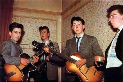 The Beatles before they were The Beatles