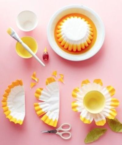 Martha Stewart Make It Coffee Filter Flower Baskets