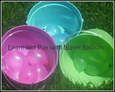 water balloon activities