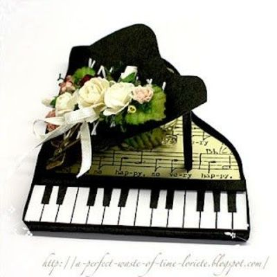 template for a piano card for betty papercraft juxtapost. Black Bedroom Furniture Sets. Home Design Ideas