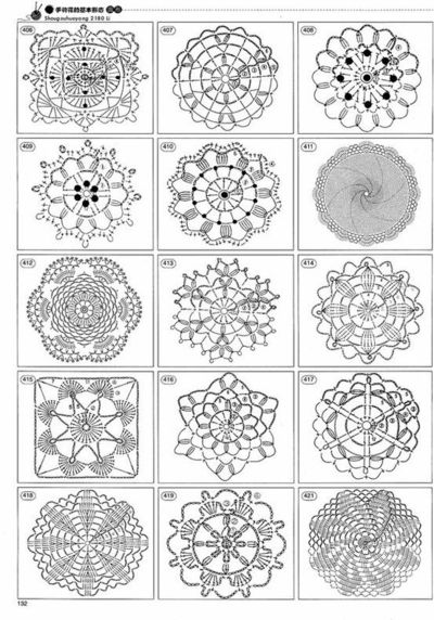 Over 2000 crochet symbol patterns / crochet ideas and tips ...