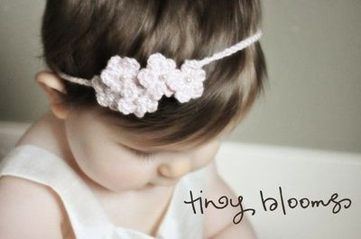 Spring Blooms Crochet Flower Headbands Patterns Baby to Adult
