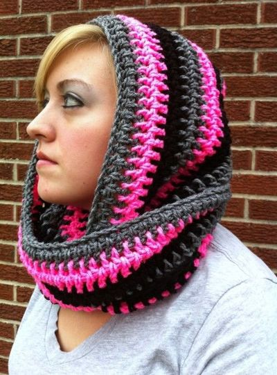 scoodie #scarf free #crochet pattern / crochet ideas and tips ...