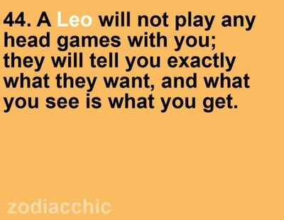 Leo Quotes and Sayings