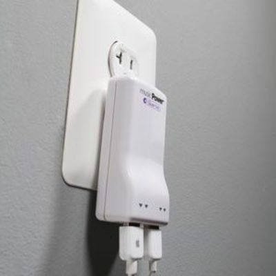 USB 4 Port AC Charger