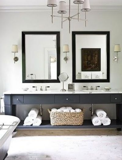 Charcoal Grey Vanity Amy Morris Bath Ideas Juxtapost