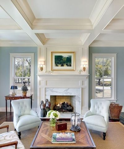 Gorg love the windows on either side of the fireplace for Fireplace with windows on each side