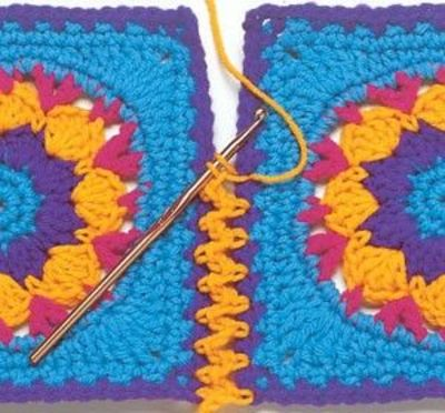 Crochet Stitches Joining : Crochet Joining Techniques