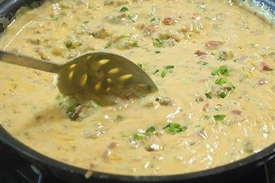 Best homemade Queso dip ever. Super easy too! On PioneerWoman.com