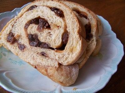 Cinnamon Swirl Bread - tried tonight and it was sooo good. Not too sweet and not too dense!