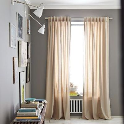 Grey Walls Beige Draperies For The Home Juxtapost