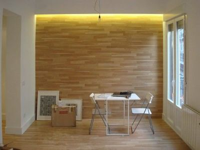 Wood Flooring On Walls   Prefer With Darker Wood With Good Texture Part 19