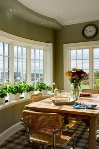 color is a fav, and love the window sill!