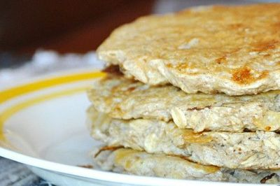 Banana Bread Protein Pancakes...now you can have your cake and eat it too!
