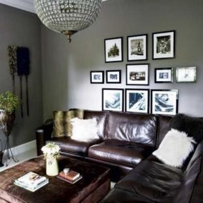 grey living room soft grey walls give this living room an