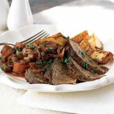 ... beef roast braised in zinfandel recept yummly zinfandel braised beef