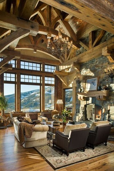 cabin / lodge / great room