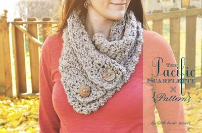 scarflette crochet pattern on Etsy, a global handmade and vintage