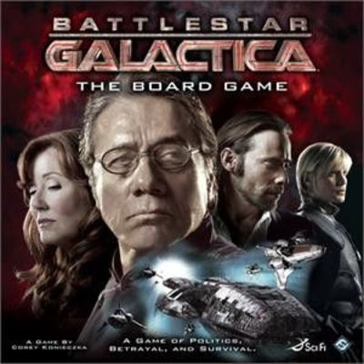 I WANT THIS! One of the best board games to be based on a movie/TV show around. Does a great job of giving you the feeling of being on the Galactica and the betrayal of finding out that your closest teammates could be your enemies.